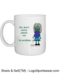 I'm Armless - Mug Design Zoom