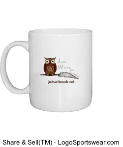 Just Write Code - Mug Design Zoom