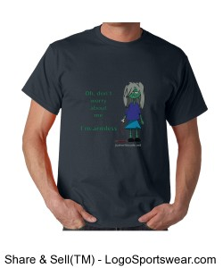 I'm Armless - Gildan Adult T-shirt Design Zoom